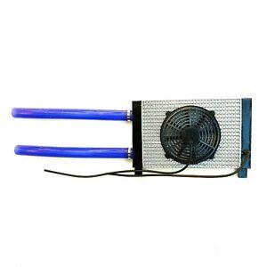 Rc 1/10 Radiator/Fan Scale Cooler Drift Car Crawler Truck Cooling Handmade TRX4