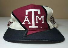 VTG Texas A&M Aggies Hat Snapback 90's TOW Cap Grafitti Big Logo