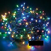 Multi Coloured 400 LED Chaser String Fairy Lights Indoor Outdoor Xmas Christmas