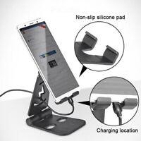 Universal Adjustable Mobile Phone Holder Stand Desk Tablet Foldable Portable