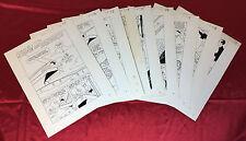 1965 Hanna-Barbera Original Comic Book Art SINBAD JR #1  ~ Full Story, 9 Pages