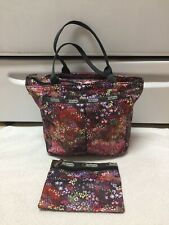 Lesportsac Handle Bag With Zipper Pouch