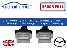 Mazda 5 CX9 Canbus Compatible LED Licence Number Plate Lights Units