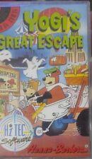 Yogi's Great Escape (HI TEC 1988) c64 cassette (box, Manual, Tape) 100% OK