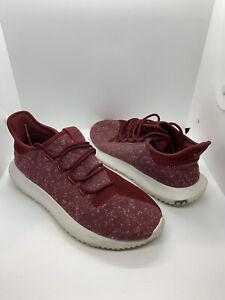 Adidas Tubular Shadow Burgundy Mens BY3571 Athletic Shoes Size 9.5