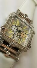 JBW Phantom White Diamond 2.38ct Watch JB-6215 Chronograph lowest price on Ebay