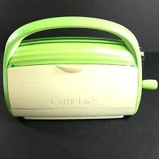 CRICUT Cuttlebug Die Cutting Embossing Machine - Green NO Plates or Accessories