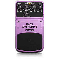 More details for behringer bod400 bass overdrive effects pedal