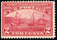 US Scott  #372 Hudson-Fulton (1909) Straight Edge MNH  ***FREE SHIP****