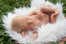 Reborn Newborn Baby Boy Levi by Bonnie Brown Blonde Hair Sleeping Baby