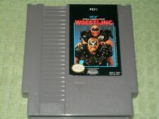 WCW World Championship Wrestling (Nintendo NES) Cleaned & Tested! Game - WWF WWE