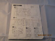 TAMIYA HOLIDAY BUGGY PARTS LEAFLET VINTAGE