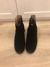 Siren Black Suede Boots Size 7.5