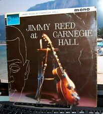 """JIMMY REED.  """"JIMMY REED AT CARNEGIE HALL""""  STATESIDE UK LP. ORIG MONO.1962."""