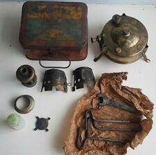Vintage 1930 Primus Tin Box & No 210 Camping Stove code U