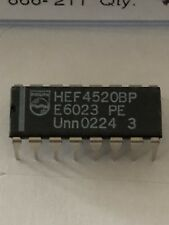 13 X  Philips HEF4520BP Dual 4bit synch counter HEF4520BP DIP16