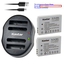 Kastar NB-5L NB5L Battery Charger for Canon PowerShot SX210 IS SX220 IS S110