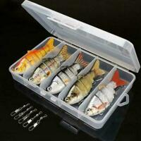 5Pcs Bionic Swimming Lure Suitable For All Kinds Of Jointed Bait Multi Fish 2020