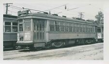 M615 RP 1940s? MILWAUKEE WI ELECTRIC RAILWAY & TRANSPORT CAR #652 ' TEUTONIA '