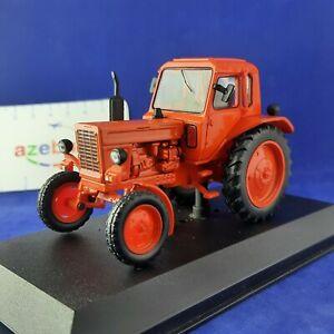 MTZ-80 Belarus Red Wheeled Soviet Tractor USSR 1974 Year 1/43 Scale Farm Vehicle
