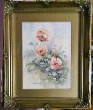 Small (up to 12in.) Contemporary Art Floral Art Paintings