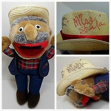 Shotgun Red Show Autographed Plush W/ Five (5) Country Music Signatures On Hat