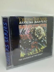 DREAM THEATER  The number of the beast CD amazing tribute Iron Maiden