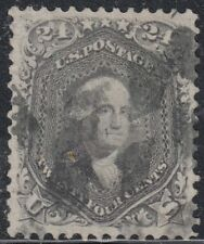 USA Scott #78b 24ct Used Weiss cert reperfed at left CV $450