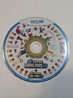New Super Mario Bros. U + New Super Luigi U (Nintendo Wii U, 2015) Disc Only