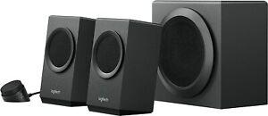 Logitech Z337 Bold Sound Bluetooth Wireless 2.1 Speaker System + Subwoofer Black