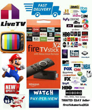 Unlocked Fire TV stick LATEST 17.6 ALEXA REMOTE 2nd GENERATION