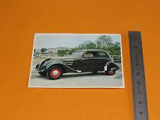 CHROMO CHOCOLAT POULAIN 1976 AUTO VOITURE PEUGEOT 402 B LEGERE 1938