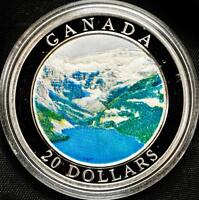 2003 Canada $20 Silver Coin - The Rockies