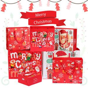 5Pcs/lot Christmas Paper Bag Festival gift bagsSJCAnd