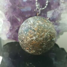 Orgone Radiation Protector EMF RF Harmonisation Shungite Ascension Pendant