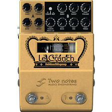 Two Notes Audio Le Crunch 2-Channel British Tones Guitar Tube Pre-Amp Pedal