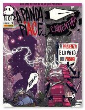 fumetto A PANDA PIACE L' AVVENTURA Nr. 4 Edizioni Panini Comics