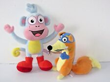 Deslizador De Dora La Exploradora Y Botas El Mono Suave Juguete Set