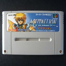 AQUTALLION Nintendo Super Famicom NTSC JAPAN・❀・RPG TECMO SECRET STARS SFC アクタリオン