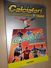 ALBUM PANINI CALCIATORI LA RACCOLTA COMPLETA 2001-02 2002 GAZZETTA DELLO SPORT
