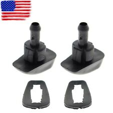2Pcs Plastic Car Auto Window Windshield Washer Spray Nozzle For Aston Martin