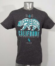 Volcom California bear men's t-shirt gray M