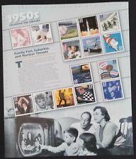 Celebrate the Century 1950's - Scott #3187  Pane of 15 stamps MNH