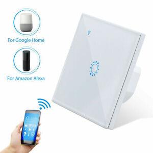 Smart WiFi Schalter Touch Lichtschalter Touchcreen APP Alexa echo Google Wlan DE