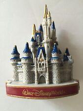 disney walt disney world magic kingdom cinderella castle plastic magnet new