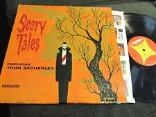 JOHN ZACHERLEY SCARY TALES HALLOWEEN LP '62 surf rare spooky horror Zacherle wow