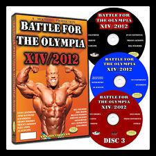 BATTLE FOR THE OLYMPIA 2012 DVD Bodybuilding Mr Olympia IFBB NPC PHIL HEATH WINS