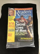 Readers Digest Charlize Theron October 2005 Mint Still In Original Plastic Bag