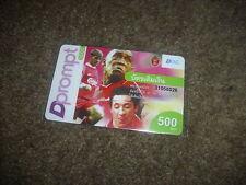 Liverpool FOOTBALL carte téléphonique champions européens mai 2003 Thaïlande numéro 4