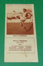 FOOTBALL BISCUITS REM 1958 PIERRE CAHUZAC TOULOUSE FC Téfécé AGEDUCATIFS PANINI